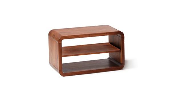 Beistelltisch Com:Ci mit Holzboden