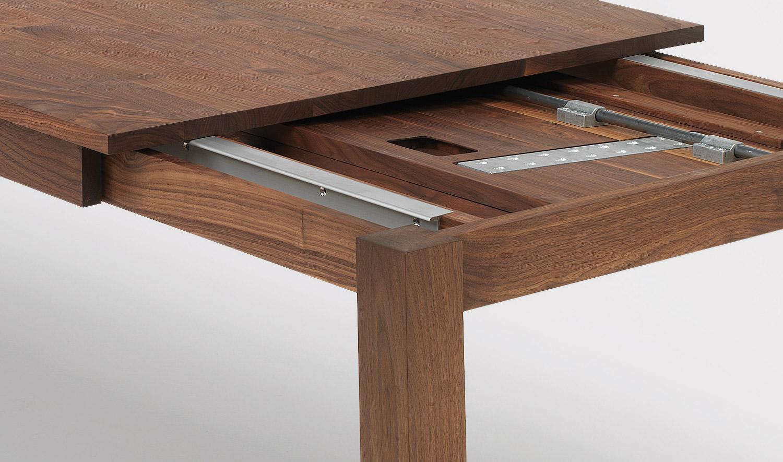 Esstisch nussbaum ausziehbar  Tisch Livingstone (ausziehbar)