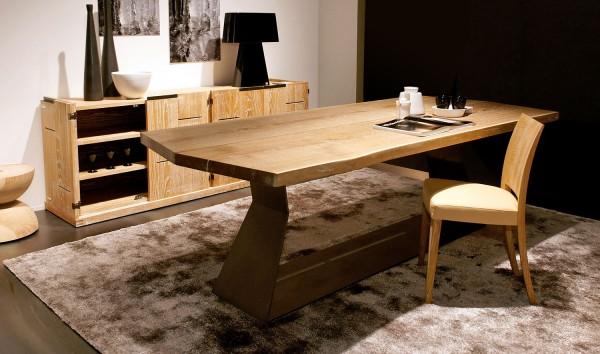 Tisch Bedrock Plank B